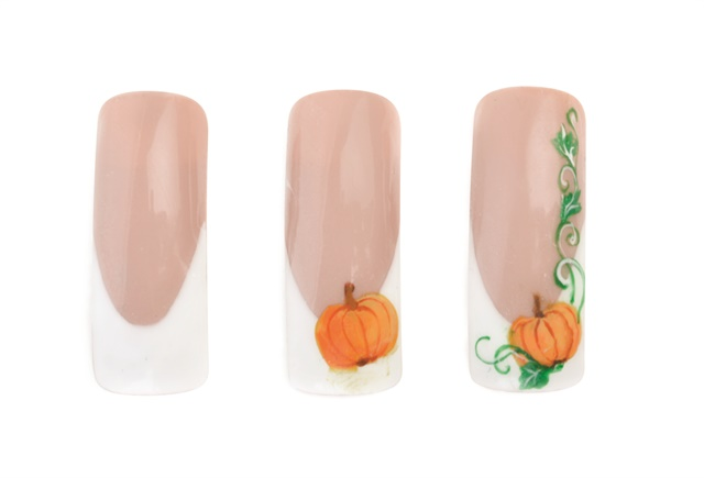 3 More Easy Fall Nail Art Projects For Students