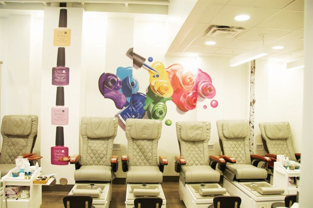 <p>Regal Nails Downtown Baton Rouge was one of the first salons to showcase the new look.</p>