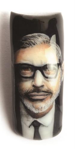 <p>Jeff Goldblum by Crystal Hoang</p>