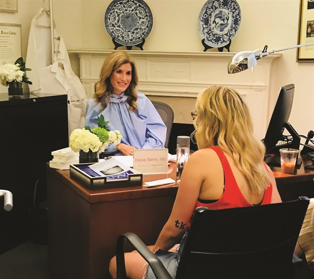 <p>A nail specialist, Dr. Stern is consulted by other dermatologists, physicians, and patients who have read about her or been referred by their nail salon.</p>