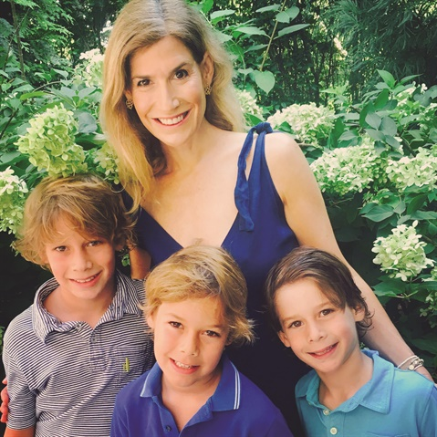 <p>As the mother of three boys, Dr. Stern tries to strike a balance between work, family, and personal time.</p>
