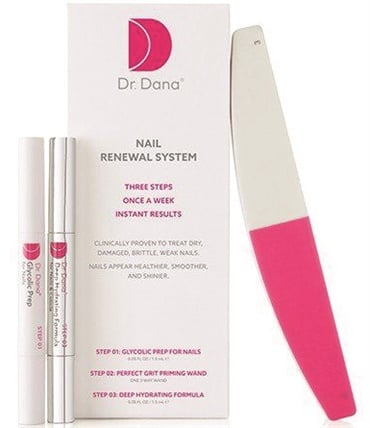 <p>Dr. Stern created her nail line to offer patients and consumers an effective treatment for issues like peeling, weak, and brittle nails.</p>