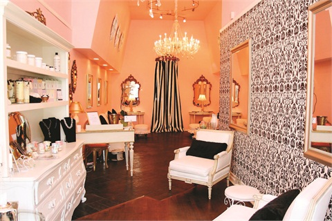 <p>Check out the vintage-inspired furniture and prints at The Pampered Girl in San Francisco.</p>