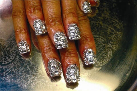 3 Ways to Bling Out Nails - Style - NAILS Magazine