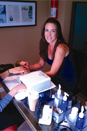 Ally Conley, owner of Mani Pedi Cutie in Hermosa Beach, Calif., looks for techs who are good with children.