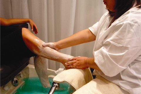 pedicure at home steps