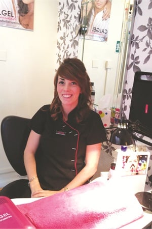 <p>Kelly Saddleton has noticed that professional nail services appeal to a broader range of clients now than when she first entered the business.</p>