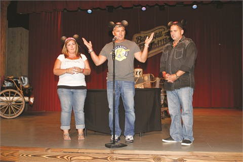<p>Gari-Dawn Tingler, Danny Haile, and David Daniel were grateful for the amazing turnout and the unparalleled support they receive from their trainees and educators.</p>