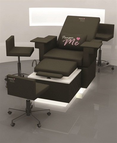 <p><span>Multi-tasking equipment and furnishings like </span><span>this Michele Pelafas Furniture PamperMe </span><span>Pedicure Lounge & Beauty Chair may be a </span><span>smart investment if you're trying to get busy </span><span>clients in and out in a hurry.</span></p>