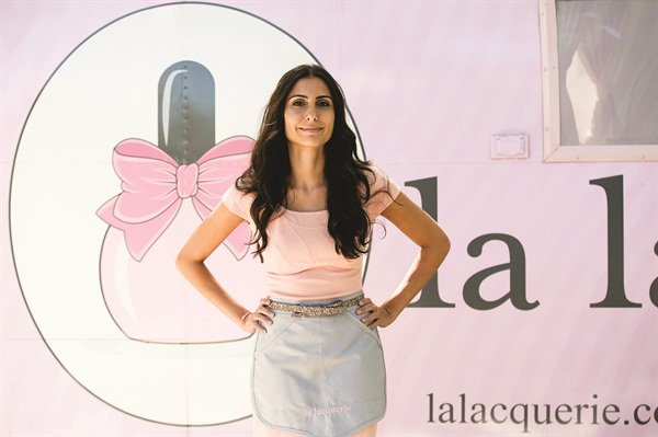 Susan Aflak, owner of La Lacquerie, wanted a mobile nail salon that offers hygiene and convenience for busy women.