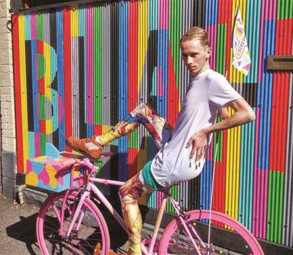 "<p>A nail artist riding I Scream Nails' unique ""nail art bike"" delivers one-of-a-kind manicures on the go.</p>"