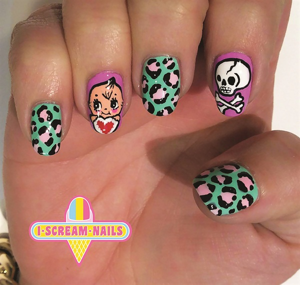 Its All About Nail Art At I Scream Nails Business Nails Magazine