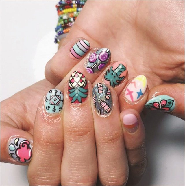 French Nail Artist Wows With Nail Art - Style - NAILS Magazine