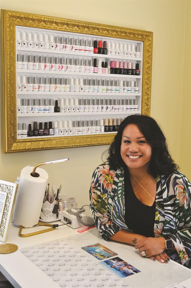 <p>Teena Olsen in her Vallejo, Calif., studio.</p>