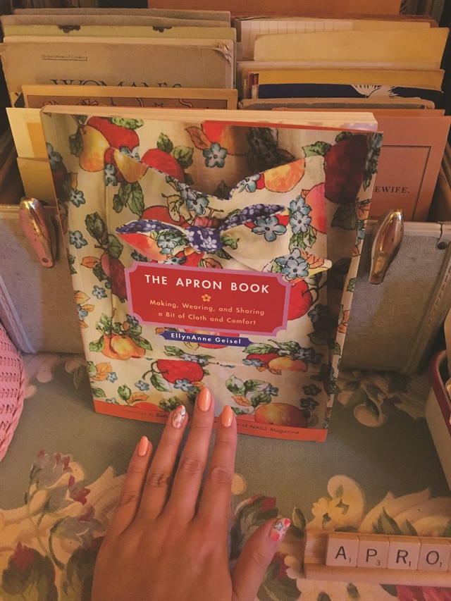 <p>My nail inspiration. I acutally had the honor of writing the foreword for this book!</p>