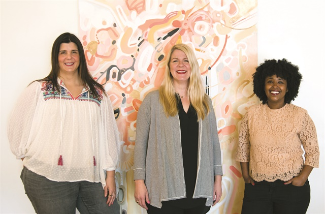Salon owners Amy Yousey, Aimee Ahpeatone, and Beza Yosef were inspired by green salons across the country.