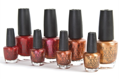 Opi S Minis Are Available In Cute Packs Of Four With Each Little Bottle Weighing At About A Fourth The Size Its Full Sized Counterpart