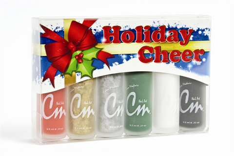 Cm Holiday Cheer Nail Art Kit Style Nails Magazine