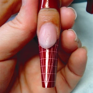 Christmas Ornaments in Acrylic Nails