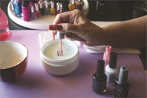 Designer Nail Art Polish Application Technique Nails Magazine