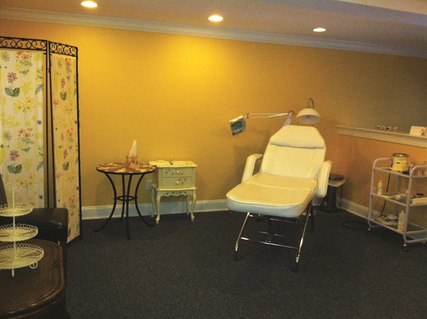 Classes are offered to nail techs for training on enhancements and the salon's hair removal services.
