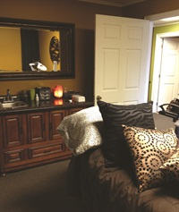 <p>The skin care room at Parnell's Me Time salon is private and relaxing.</p>