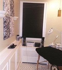 <p>Chanda Jenkins has a separate esthetics room in her salon, A Lil' Me Time.</p>