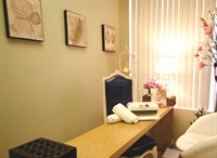 <p>The nail and esthetics rooms are separate at Sarah Elizabeth Skincare & Nail Boutique.</p>