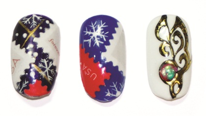 <p>Finished holiday looks, signed, sealed, and delivered.</p>