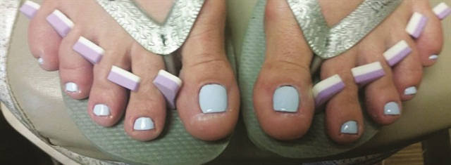 <p>Nails by Maureen Gleason (after)</p>