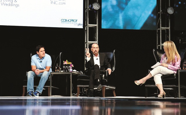 Over 1,300 attendees took part in the inaugural Beauty Pitch featuring Mark Cuban and John Paul DeJoria.