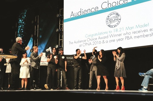<p>Finalist 18.21 Man Made received the Audience Choice Award after live polling was conducted during the event.</p>