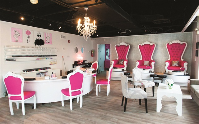 Dallas Beauty Lounge currently has 1,000 square feet of space, but Sauers plans to expand that by an additional 1,700 square feet when the space next door becomes available.