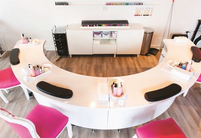 Dallas Beauty Lounge offers plenty of nail services to choose from, but the most popular options are gel manicures, acrylic, and nail art.