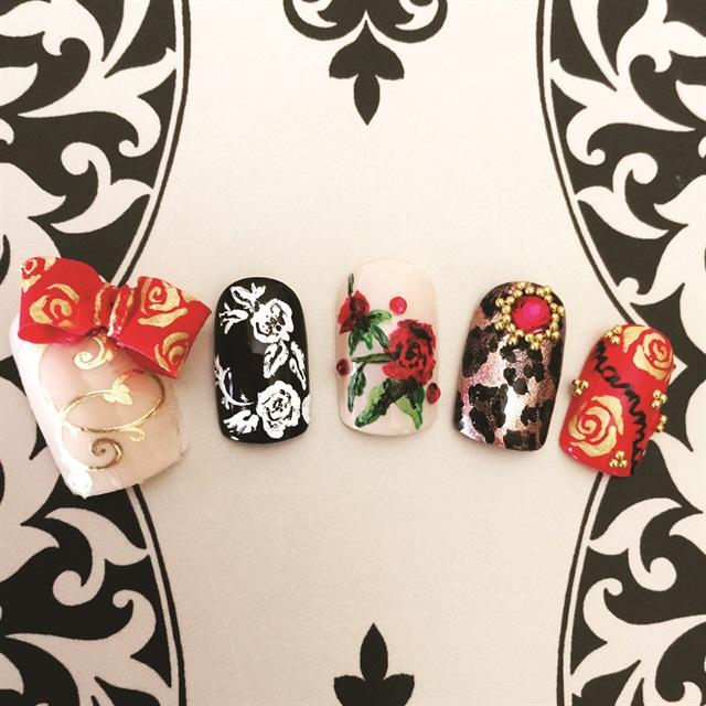 Dolce & Gabbana-Inspired Nail Art - Style - NAILS Magazine