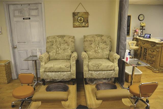 <p>The salon is located near the Cumberland Riverwalk in Clarksville, Tenn.</p>