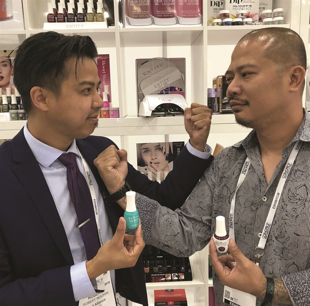 <p>Brothers Robert and Vu Nguyen now both work for Nail Alliance — for Entity and Gelish, respectively.</p>