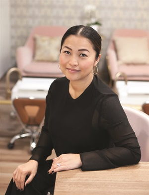 Salon owner Kieu Hoang Jorza says that hair and nails go hand-in-hand, and she's attracted to the artistry of beauty.