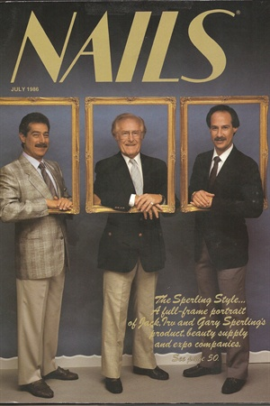 <p>[1986] The Sperling family, left to right, Jack, Irv, Gary.</p>