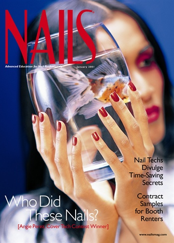 <p>Angie Perez, a nail technician at Siren Salon in Chicago and winnerof the first annual NAILS Cover Tech Contest</p>