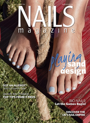 Behind The Scenes Sand On Your Toes Nail Art Technique Nails