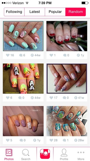 The new nail art app nails magazine prinsesfo Image collections
