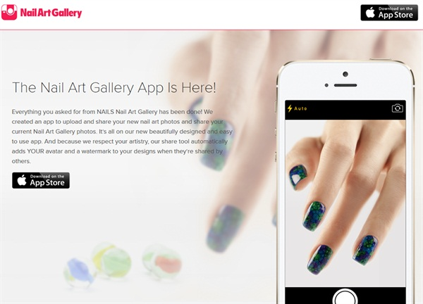 The nail art gallery app is here nails magazine prinsesfo Image collections