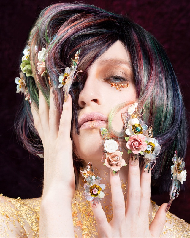 <p>Nails by Victoria Zegarelli</p>