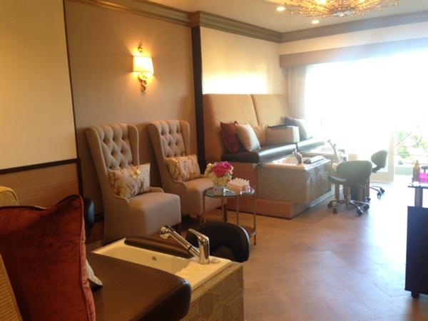 <p>The Nail Suite interior, balcony and all. Photo courtesy of Dali Gandara.</p>