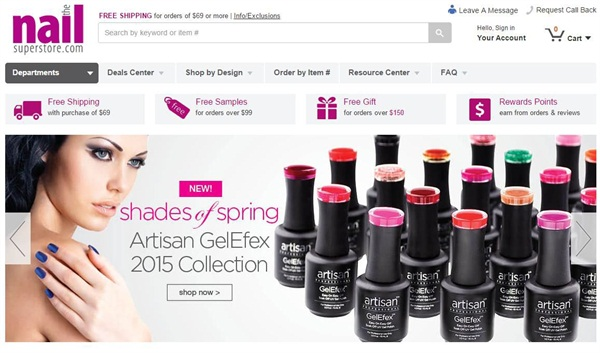 Shop The Nail Superstore on Your Computer, Phone, or Tablet ...