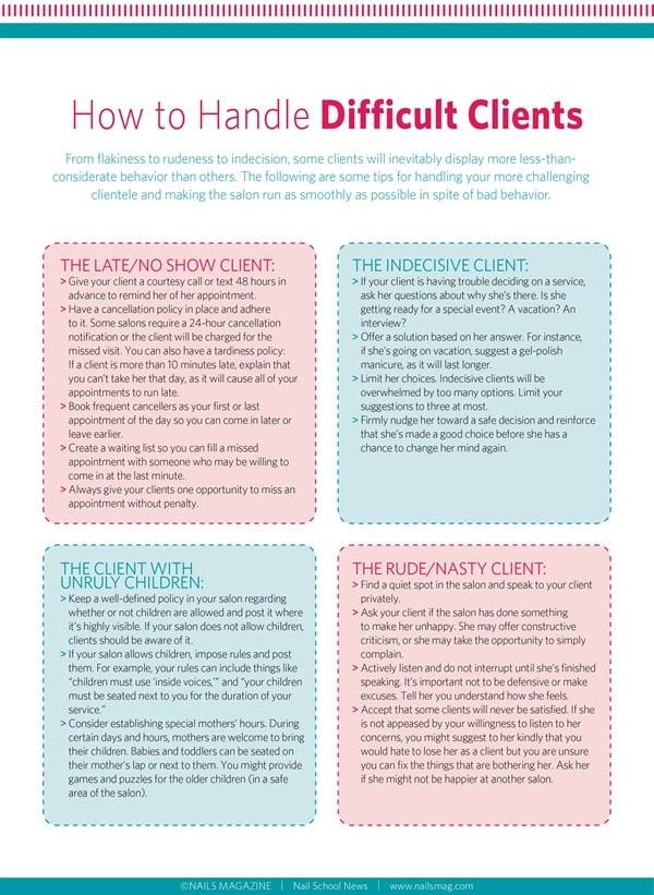 Adult client education handout planner planner practice