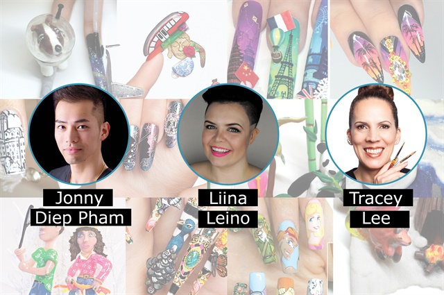 Nails Cnd Announce Top 3 Finalists In Next Top Nail Artist Season