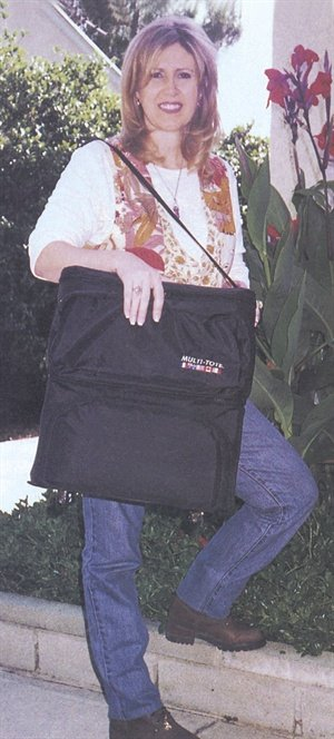 <p>A good, sturdy tote bag is a nail technician's best friend; who better to design the perfect carry all than a nail technician like Debbie O'Hara? The bag is now licensed by OPI Products and O'Hara continues to come up with other useful inventions for nail technicians.</p>