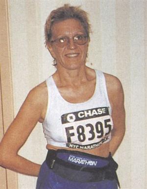 <p>Nail tech and instructor Paulina Laramee has run seven marathons so far, raising thousands of dollars for worthy charities.</p>